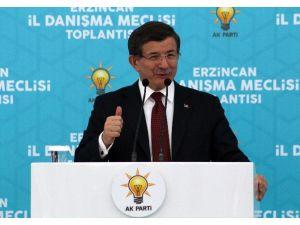 Başbakan Davutoğlu, Erzincan İl Danışma Meclisi Toplantısına Katıldı
