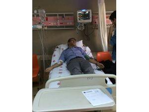 Polislerin tartakladığı HDP'li vekil hastaneye kaldırıldı