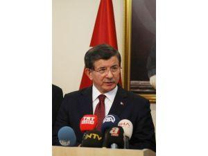 """Başbakan Davutoğlu: """"Tehdit Oluşturan Güçlere Karşı Mukabelede Bulunulmuştur"""""""