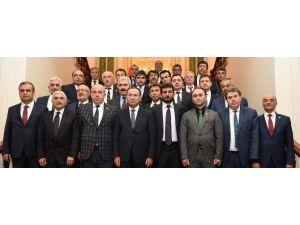 Yozgat İl Genel Meclis Başkan Ve Üyelerinden Adalet Bakanı Bozdağ'a Ziyaret