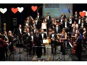 Çdso'dan Sevgililer Günü Konseri