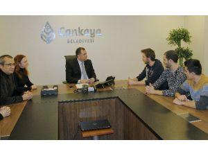 Avrupalı Misafir Öğrencilere Çankaya Belediyesi'nden Destek