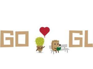 Google Sevgililer Günü için doodle hazırladı