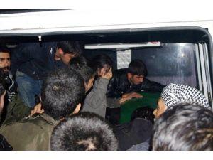 Cizre'de Öldürülen PKK'lı Toprağa Verildi