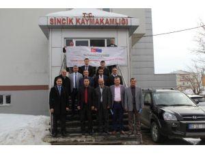 Proje Değerlendirme Toplantısı Sincik'te Yapıldı