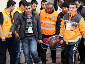 Gaziantepsporlu Futbolcu Desıre Hastaneye Kaldırıldı