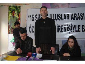 HDP ve DBP yöneticilerinden 15 Şubat çıklaması