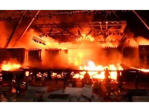Hindistan'da büyük yangın