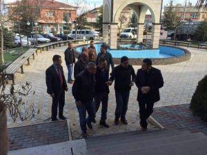 Milletvekili Açıkgöz Çat Kasabasını Ziyaret Etti