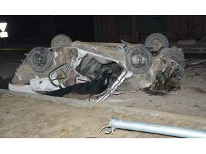 Karabük'te Trafik Kazası : 1 Ölü 1 Yaralı