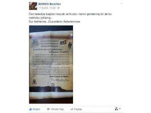 Çan Belediyesinin Hediyeleri Yerine Ulaştı