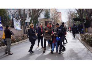 Ankara Üniversitesi'nde müdahale: 15 gözaltı