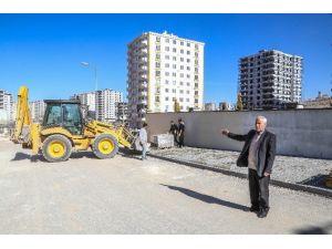 Şehitkamil Belediyesi Yukarı Beylerbeyi'ndeki Çalışmaları Tamamlıyor