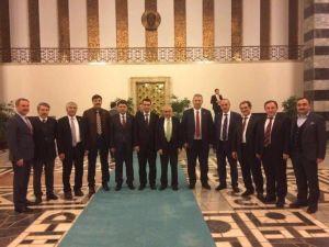 AK Parti Pendik Teşkilatı Milletvekili Tunç'u Ziyaret Etti