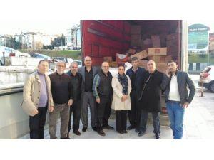 AK Parti Nilüfer'den Bayırbucak Türkmenlerine İnsani Yardım