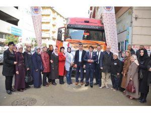 Gemliklilerden Bayırbucak Türkmenlerine Yardım