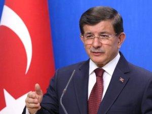 Davutoğlu: YPG'ye Gerekli Olan Yerde Gerekli Müdahale Yapılacak