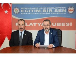 Eğitim Birsen Malatya 1 Nolu Şube Başkanı Kerem Yıldırım: