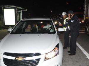 Alanya Polisinden Asayiş Uygulaması