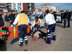 Beypazarı'nda Trafik Kazası: 1 Yaralı