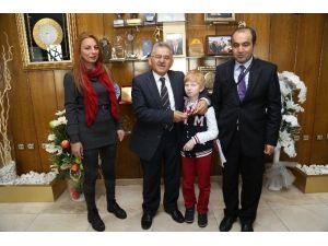 Kayseri Gençlik Hizmetleri Görmeyenler Spor Kulübü Yöneticileri Ve Sporcuları Melikgazi'de