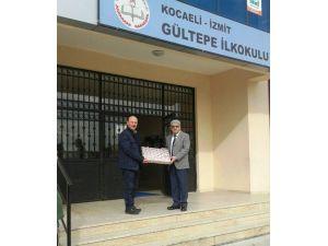 İzmit Belediyesi Okullara Yardım Desteğinde Bulundu