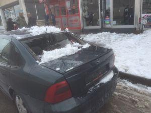 Eriyen karlar kazalara davetiye çıkarıyor
