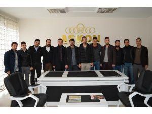 AK Parti Malatya Yeşilyurt Gençlik Kolları'ndan, Genç ASKON'a Ziyaret
