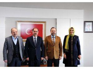 AK Parti Milletvekillerinden Rektör Şimşek'e Ziyaret
