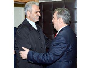 İran Büyükelçisi, BBP Genel Başkanı Destici'yi ziyaret etti