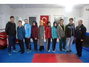 Milli Taekwondocular, Antalya'ya Hareket Etti