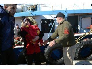55 Sığınmacı Ölümden Döndü