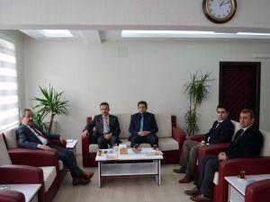 Bitlis Mesleki Eğitim Müdürü Uzun'dan Başkan Gürsoy'a Ziyaret