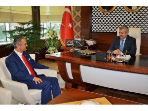 Başkan Baran, CHP Sivas Milletvekilini Ağırladı