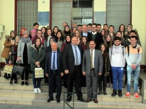 Namık Kemal Üniversitesi Rektörü Şimşek'in Yunanistan Ziyareti