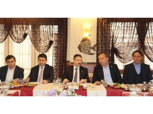 AK Parti'den İlçe Başkanları Toplantısı
