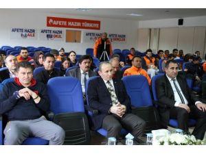 """""""Ekip Kur Hayat Kurtar"""" Projesi'nin Tanıtımı Yapıldı"""