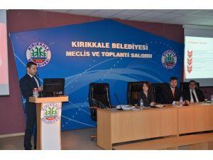 Kırıkkale'de Katı Atık Toplama Ve Bertaraf Projeleri Anlatıldı