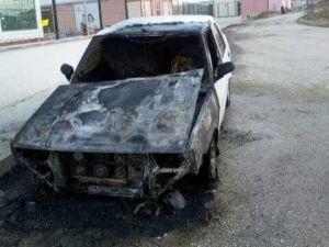 Seyir Halindeki Aracın Motoru Yandı