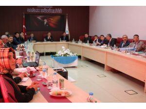 Sağlık Değerlendirme Toplantısı Yapıldı
