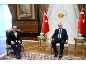 Hacettepe Üniversitesi Rektörü Prof. Dr. Özen Beştepe'de