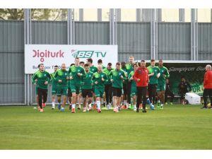 Bursaspor, Fenerbahçe hazırlıklarına başladı