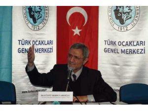 Şehsuvaroğlu, Türk Ocakları'nda Sarıkamış'ı Anlattı