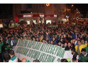 Bursaspor Taraftarından TFF'ye Protesto