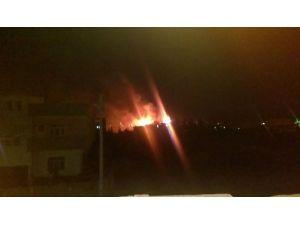 Nusaybin'de bir okulun çatısı ateşe verildi, başka okula da molotof atıldı