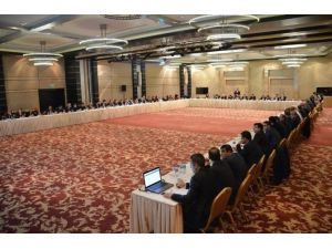 AK Parti Konya İlçe Başkanları Toplantısı Yapıldı