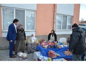 Seyitgazi Belediye Başkanı Hasan Kalın'dan Pazar Esnafına Ziyaret