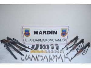 Mardin'de silah ele geçirildi