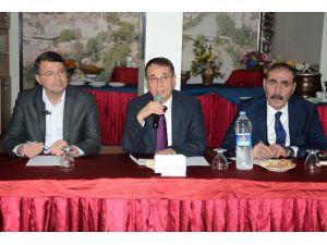 Büyükşehir Koordinasyon Toplantısı Silifke Belediyesi İle Devam Etti