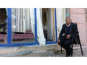 Cizre'de neredeyse hasar görmemiş ev kalmadı